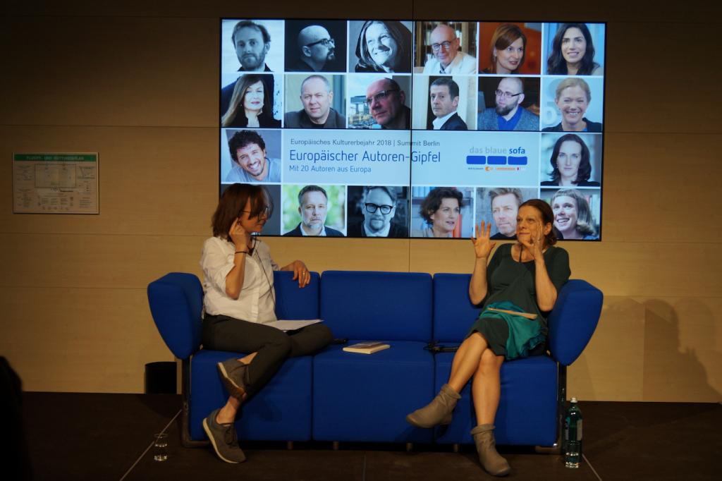Camões Berlim – Hélia Correia na Cimeira dos Autores Europeus em Berlim